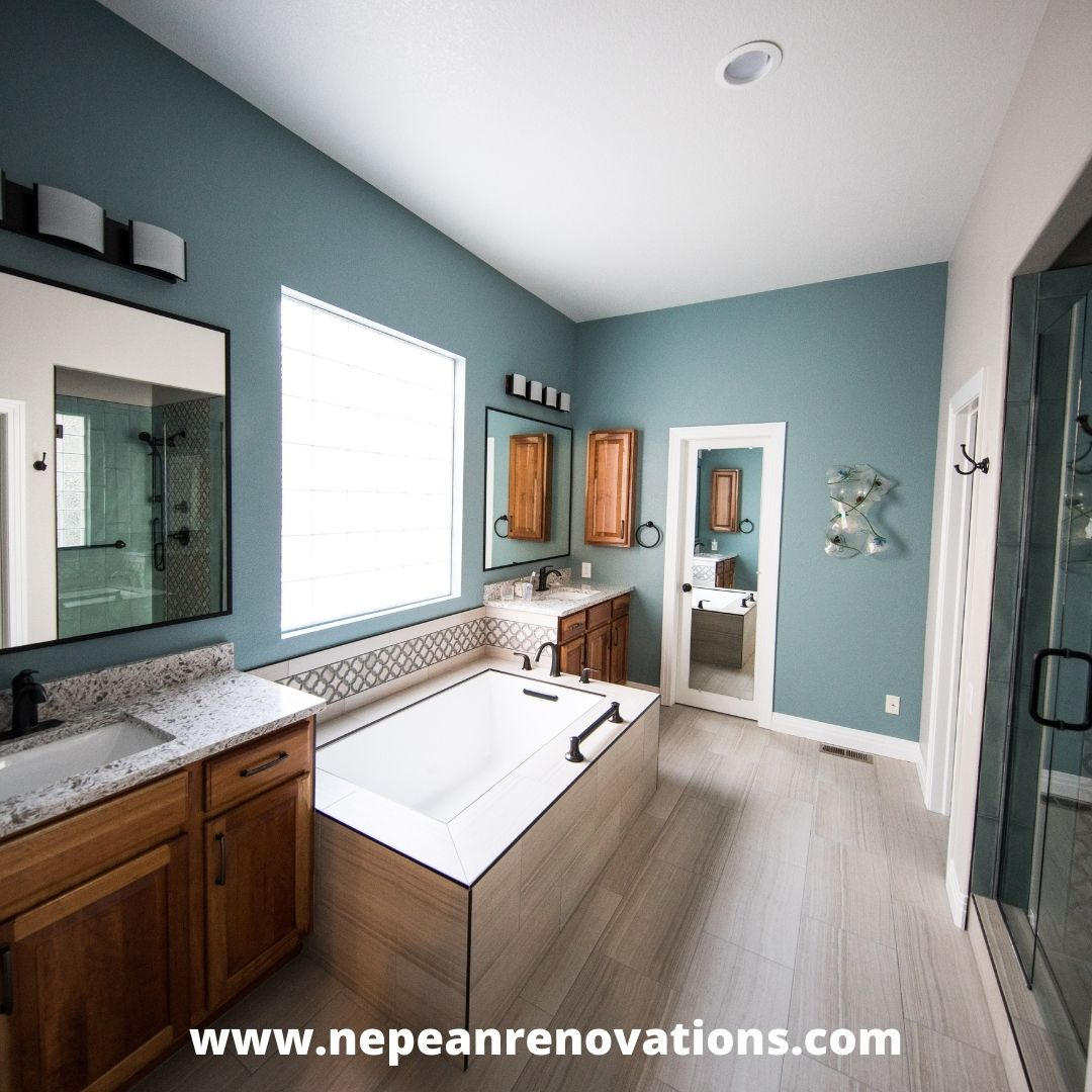 From Master Bath to Guest Bathroom